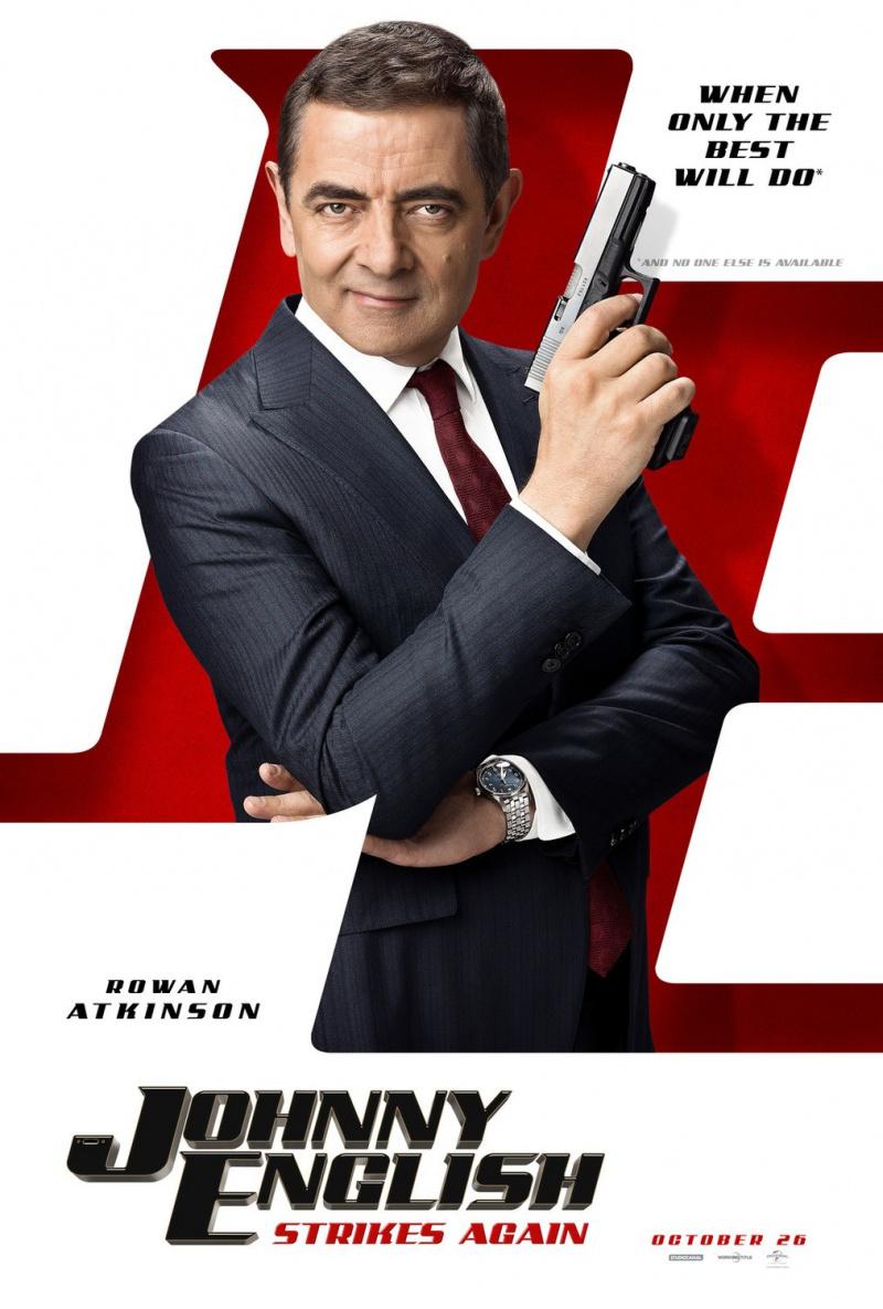 Агент Джонни Инглиш 3.0 расписание кино афиша курган