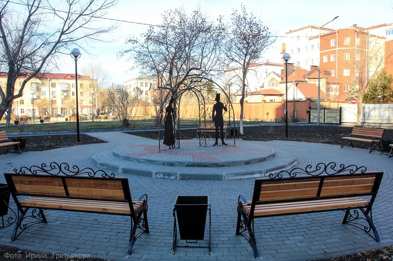 Исторический сквер-сад Барона Розена в Кургане афиша курган